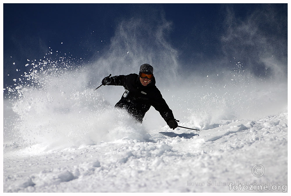 Deep in it